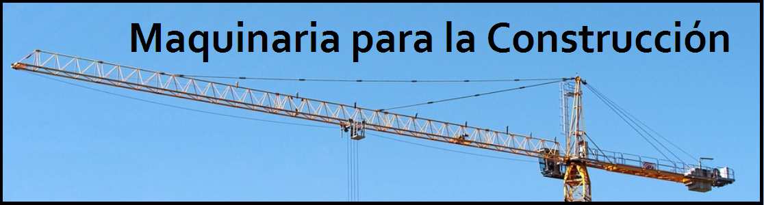 Maquinaria - Materiales - Construcción - Agricultura