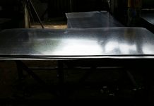 Láminas de acero galvanizado