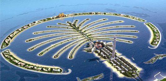 Isla Palmera. Dubai.